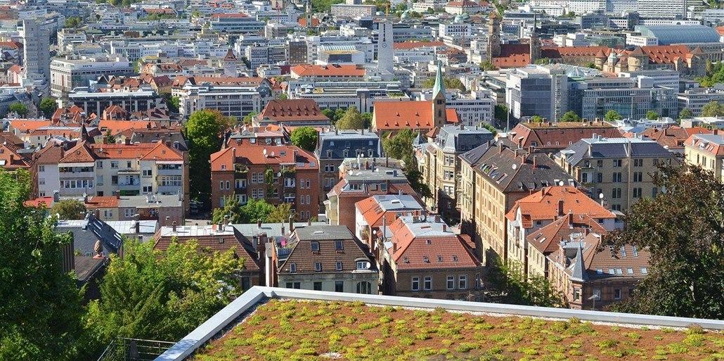 Ve městech chybí zelené střechy a fasády. Přitom chrání před horkem